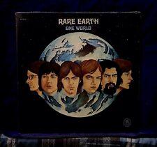 RARE EARTH~VERY RARE SEALED LP~ONE WORLD~1971 USA 1stPRESS~NO CUTOUTS~NOT 180g
