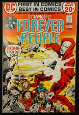 FOREVER PEOPLE #10 F/VF  1972 DEADMAN THE DIRECTOR AND THE SCAVENGERS!!