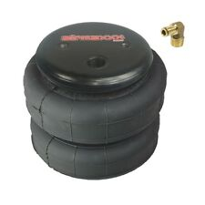 """1 air bag 2500 lb with 1/4"""" hose elbow for truck tow kit air ride suspension"""