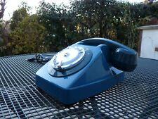 📞 SANS FILS!!!.. Distant de la Box. Téléphone Ancien Vintage S63 SOCOTEL Bleu