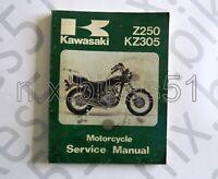 99924-1019-08 Manuel d'atelier en Anglais KAWASAKI Z 250 KZ 305 1979/81