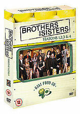 BROTHERS AND SISTERS - SERIES 1-4 - COMPLETE NEW DVD