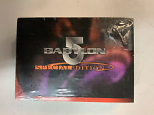 Babylon 5 Special Edition Trading Cards Sealed Clear Pack ShopTradingCardsCom