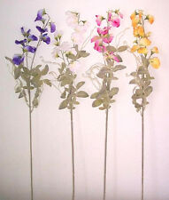 Artificial flowers & plants Sweet Peas with leaves F37