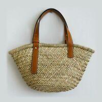 Women Handbags Casual Rattan Totes Designer Wicker Woven Beach Travel Straw Bags