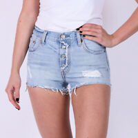 Levi's 501 hellblau Damen Denim Shorts DE 38 / US W31