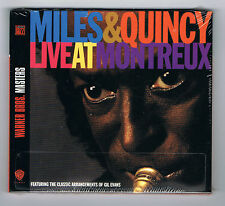 MILES DAVIS & QUINCY JONES - LIVE AT MONTREUX - CD NEUF NEW NEU