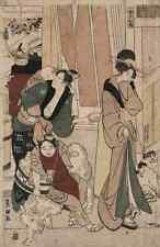 A4 Photo Toyokuni Utagawa 1769 1825 Satsuki orThe fifth month 1801 Print Poster