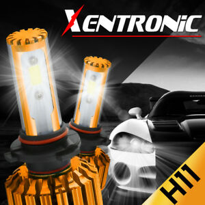 XENTRONIC 488W 6000K 48800LM H11 H9 H8 LED Headlight Bulb Kit Low Beam Fog Light