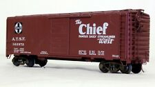 Kit Built 40 Ft Boxcar - Santa Fe 142972  - O Scale, 2-Rail
