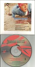 JASON MRAZ SAMPLER w/ RARE LIVE TRK PROMO DJ CD Single 2001 LIMITED USA