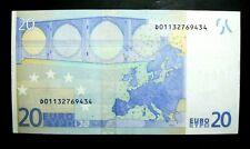 RARE BILLET 20 EUROS 1ERE VERSION DRAGHI**ESTONIE R028I3**ETAT NEUF