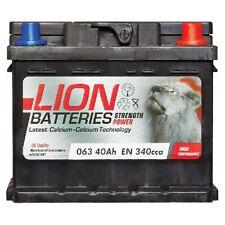063 Car Battery 3 Years Warranty 40Ah 340cca 12V Electrical - Lion MF53646