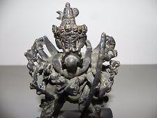 Guhyasamaja Akshobhyavajra bronze époque Qianlong - XVIIIème et avant, yab-yum