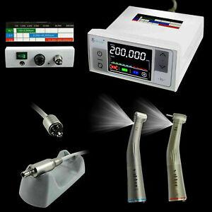 3rd Generation CICADA Dental Electric Motor + 1:5 + 1:1 Handpiece Contra Angle