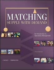 Matching Supply with Demand: An Introduction to Operations Management Irwin Ope