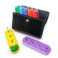 7 Day Weekly Daily Large Pill Box 28 Slot Medicine Organizer Storage Dispenser