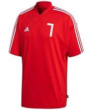 Adidas Men's ClimaLite Jacquard Soccer Shirt Red X-Large