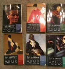Literature fiction college textbook bundles kits ebay the norton anthology of world literature lot 6 volume a b c d e f 2012 fandeluxe Image collections