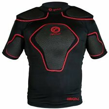 Optimum short origine de protection épaulière noir/rouge medium training sport