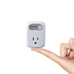 Simple Touch Countdown Timer Auto Shut-Off Safety Outlet Receptacle, 5 Presets