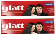 2 x GLATT Schwarzkopf Hair Straightener STRONG Care Cream Very Curly Frizzy Hair