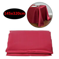 145x320cm Banquet Tablecloth Rectangle Table Cloth Cover Wedding Party Decor