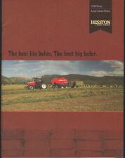 """Massey Ferguson Hesston """"2100 Series"""" Large Square Baler Brochure Leaflet"""