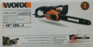 """WORX - WG303.1 - 14.5 Amp 16"""" Electric Chainsaw with Auto-Tension"""