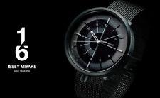 2019 New!! ISSEY MIYAKE 1/6 Nao Tamura NYAK001 Mechanical Men's Watch Black