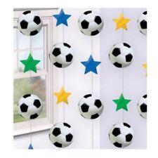 Decoración multicolor para fiestas, fútbol