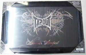 """MMA TAPOUT AMERICAN ARROGANTS WALL MOUNTED 20"""" X 12"""" MIRROR BRAND NEW"""