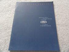 1998 Ford Contour SVT Sales Brochure