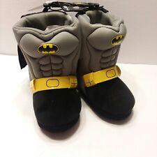 DC-Comics Batman Toddler Boys Batmobile Slippers Hard Bottom