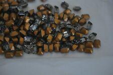 144 pieces, Black Diamond Swarovski 8x6mm Octagon Stones, #4600 -R571