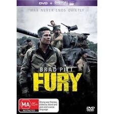 FURY New Dvd + UV BRAD PITT ***