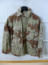 #d13 US Desert 6 Colour Chocolate Chip Campo Giacca mim COAT COMBAT tg. SMALL