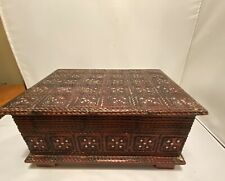 Decorative Wooden Box From Poland 8x6