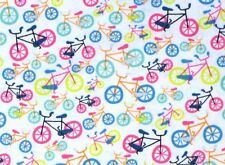 BIKE BICYCLE FIELD DAY PEDAL POWER  COTTON FABRIC TIMELESS TREASURES BY THE YARD
