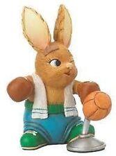 PenDelfin Rabbit Figurine -Lewis The Boxer, New, Free Usa Shipping