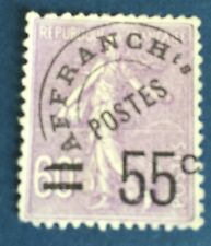 France Précis N° 47 55/60 C Violet Oblitéré  TB Qualité Côté 70€