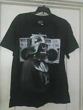 Star Wars Darth Vader Boom Box Radio Mens sz L T-Shirt Black NWT