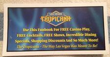 Tropicana Hotel Casino Coupon Fun Book Las Vegas Nevada 2003