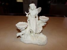 Partylite Ariana's Garden Angel Fairy Retired 3 Tea Light Candle Holder
