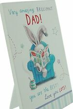 """Bebunni Close To Your Heart For The Best """"Dad"""" Free Standing Plaque"""
