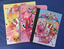 Shopkins School Supplies - 1 Folder, 1 Notebook & 1 Composition