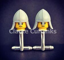 Lego ® Mini Figura Caballero Gemelos Regalo único hombre presente novio boda