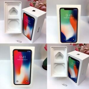 Original iPhone X box only 64GB 256GB Space Gray Silver