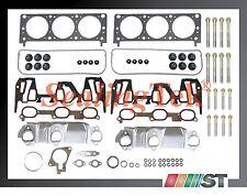 Fit 00-03 GM 3400 3.4L 207 V6 VIN E Engine Cylinder Head Gasket Set w/ Bolts kit