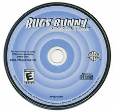 BUGS BUNNY Lost In Time - Classic Warner Brothers Loony Tunes PC Game CDrom NEW
